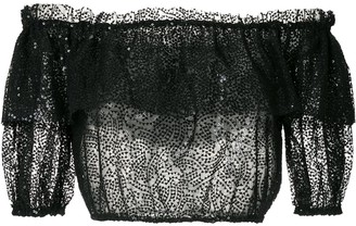 Nk Sequin Cropped Top