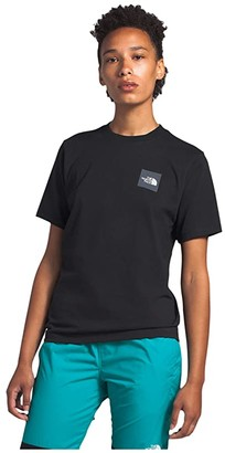 The North Face Heavyweight Box Short Sleeve Tee (TNF Black) Women's Clothing