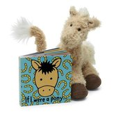 """Jellycat If I Were a Pony Book 6"""""""