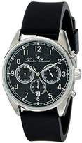 Lucien Piccard Men's LP-10588-01 Moderna Analog Display Japanese Quartz Black Watch