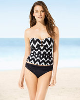 Soma Intimates Night Waves Bandeau Tankini Top