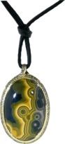 Tamara Comolli Large Ocean Jasper Amulet Pendant