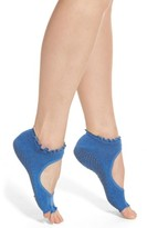 Women's Toesox Bella Half Toe Gripper Socks