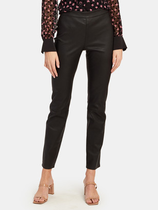 Diane von Furstenberg Claudia Leather Leggings