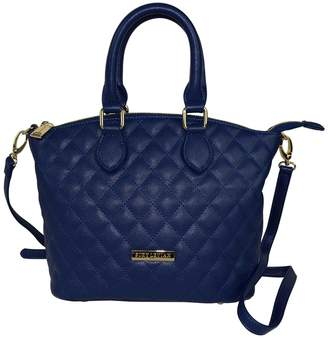 LeVian Suzy Faux Leather Quilted Satchel