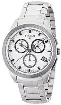 Tissot T0694174403100 Men's Chronograph White Dial Stainless Steel