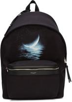 Saint Laurent Black Moonlight City Backpack