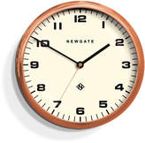 Newgate Chrysler Wall Clock White - Radial Copper