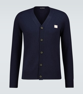 Acne Studios Keve Face wool cardigan