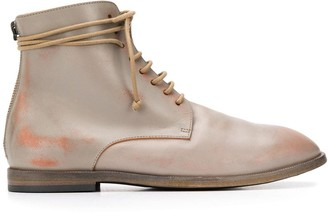 Marsèll Flat Lace-Up Boots