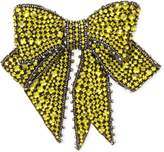 Gucci Crystal bow brooch