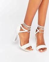 Call it SPRING Aralle Block Heel Braided Sandal