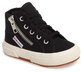 Superga Toddler Zip High Top Sneaker
