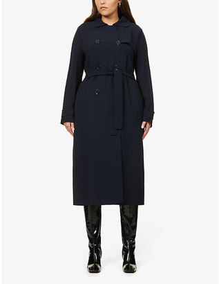 S Max Mara Main double-breasted stretch-wool coat