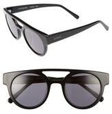 Komono Dreyfuss 49mm Round Sunglasses