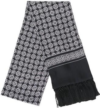 Dolce & Gabbana Patterned Fringed Scarf