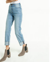 Express super high waisted slim ankle jean