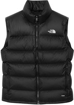 The North Face Nuptse Black Quilted Shell Gilet