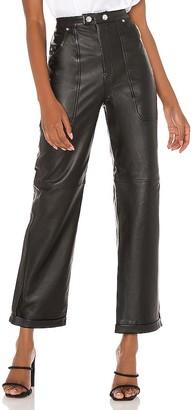 GRLFRND Paolo Leather Pants