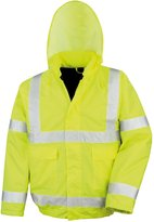Result Core High-Viz Winter Blouson Jacket (Waterproof & Windproof) (3XL)