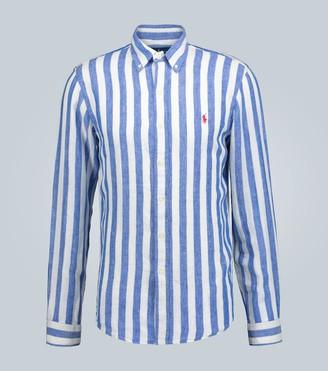 Polo Ralph Lauren Striped linen casual shirt