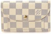 Louis Vuitton Pre-Owned Damier Azur Compact Wallet