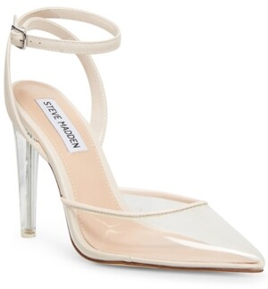 Steve Madden Women's Alessi Vinyl Two-Piece Pumps