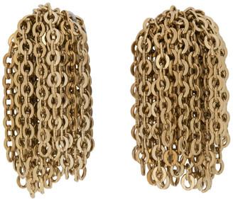 J.W.Anderson Gold Chain Tassel Earrings