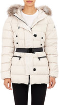 Moncler Women's Fur-Trimmed Genette Jacket-BEIGE