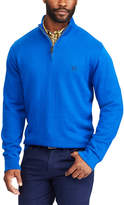 Chaps Men's Classic-Fit Cool Max Stretch Quarter-Zip Sweater