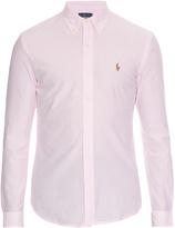 Polo Ralph Lauren Striped button-cuff cotton-piqué shirt