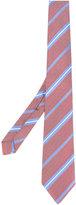 Borrelli - striped pattern tie - men - Silk - One Size