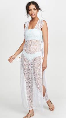 Lulu PQ Swim Lace Cover Up