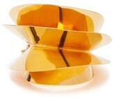 J.W.Anderson Shell Brass Bangle - Womens - Gold