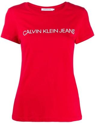 Calvin Klein Jeans printed logo T-shirt