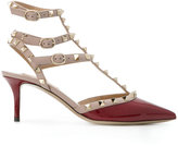 Valentino Garavani Valentino Rockstud pumps - women - Leather/Patent Leather/metal - 35