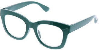 Peepers Women's Center Stage - Emerald 2523100 Round Reading Glasses