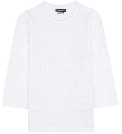 Isabel Marant Almeria linen blouse