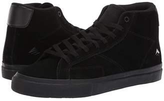 Emerica Omen Hi (Black/Black/Gum) Men's Skate Shoes