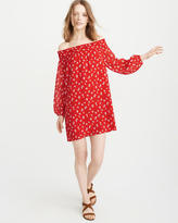 Abercrombie & Fitch Off-The-Shoulder Dress