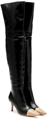 Gianvito Rossi Stefanie over-the-knee leather boots
