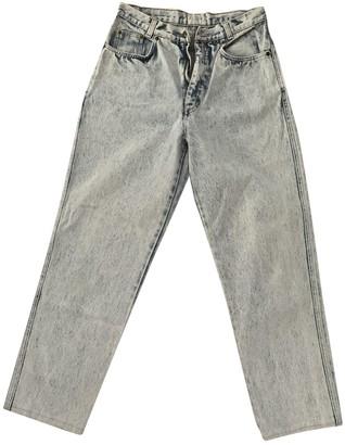 Non Signã© / Unsigned Blue Cotton Jeans
