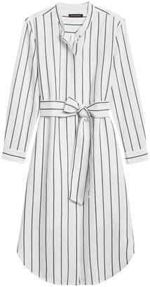 Banana Republic Petite Linen-Cotton Shirt Dress