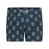 Christian Lacroix Christian LacroixBaby Boys Navy Logo Print Swim Shorts