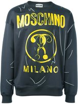 Moschino trompe-l'oeil print sweatshirt