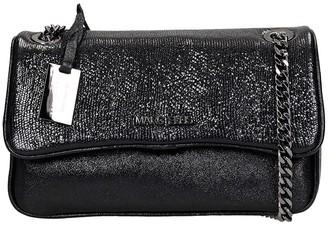 Marc Ellis Brodway M Shoulder Bag In Black Leather