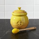 Crate & Barrel Le Creuset ® Honey Pot with Dipper