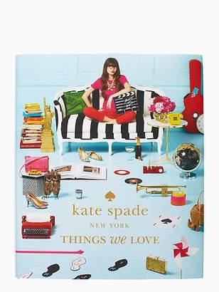 Kate Spade Things We Love Coffee Table Book