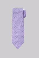 Moss Esq. Lavender Spot Silk Tie