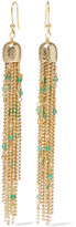 Rosantica Iliade Gold-tone Quartz Earrings - one size